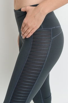 Mono B Mesh Activewear Leggings - Alternate List Image