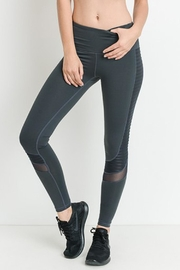 Mono B Mesh Activewear Leggings - Product Mini Image