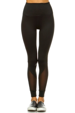 Mono B Mesh Bottom Leggings - Product List Image