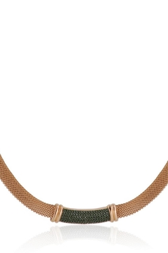 Bling It Around Again Mesh Choker Necklace - Alternate List Image