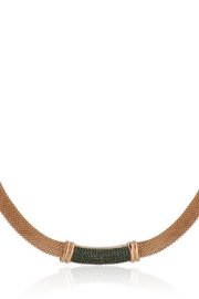 Bling It Around Again Mesh Choker Necklace - Product Mini Image