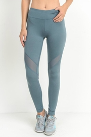 Modern Emporium Mesh Detail Leggings - Product Mini Image