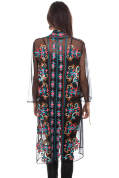 Scully Mesh Embroidered Duster - Alternate List Image