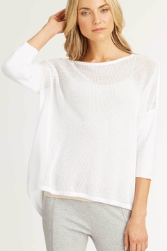 Indigenous Mesh Knit Pullover - Product List Image