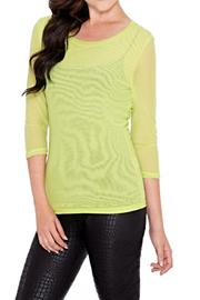 Adore Mesh Layering Top - Product Mini Image