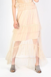 Glamorous Mesh Maxi Skirt - Product Mini Image