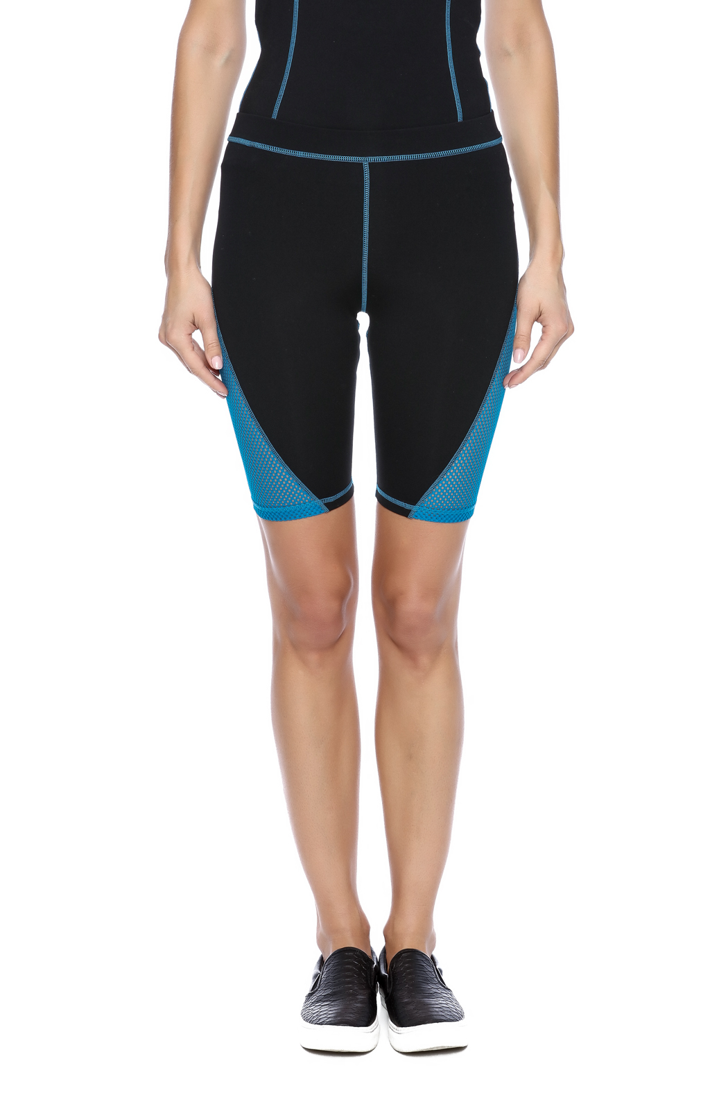 Mink Pink Move  Mesh Me Bike Short - Side Cropped Image