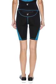 Mink Pink Move  Mesh Me Bike Short - Back cropped