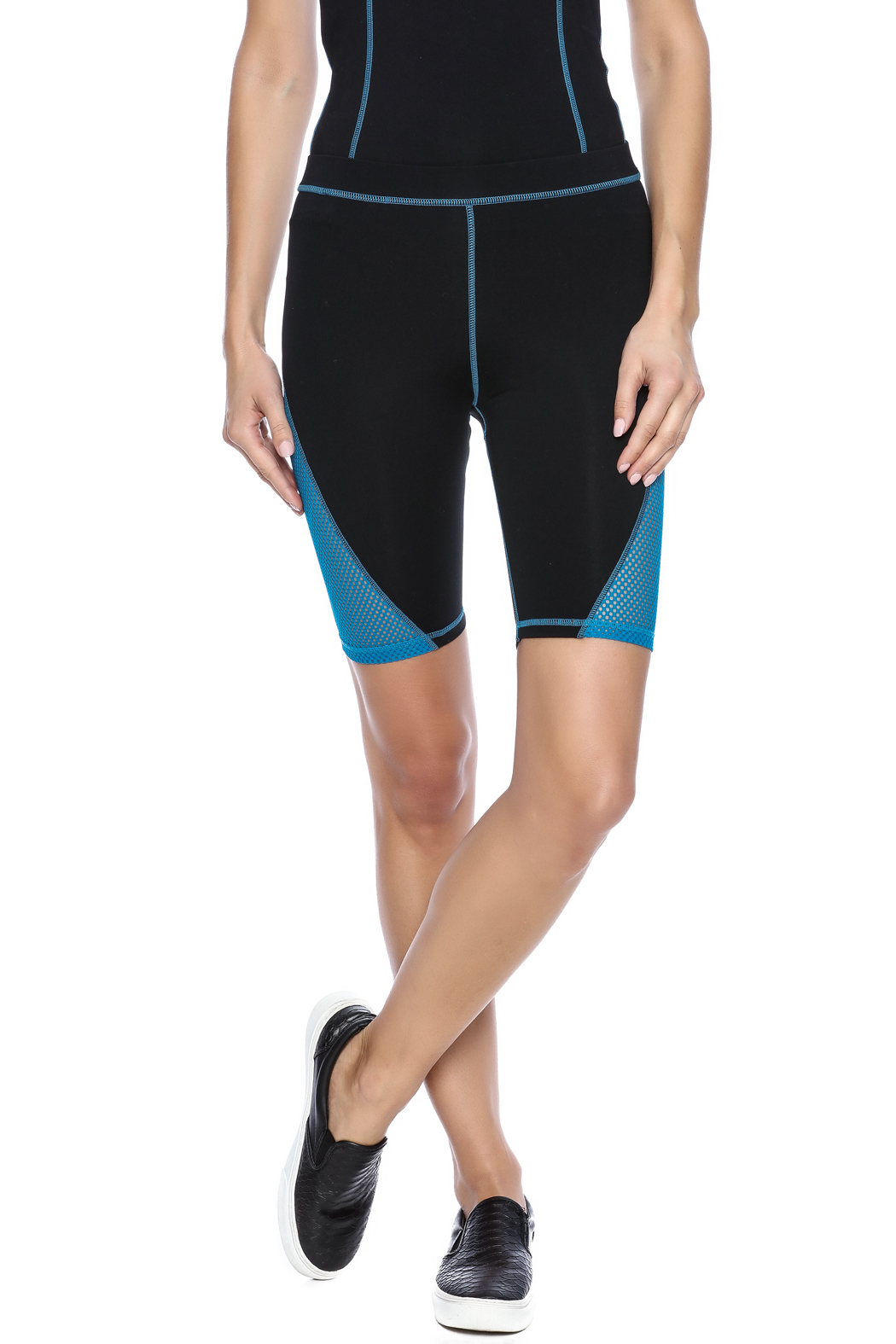 Mink Pink Move  Mesh Me Bike Short - Main Image