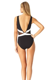 Anne Cole Mesh One Piece - Front full body