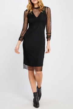 Gentle Fawn Mesh Overlay Dress - Product List Image