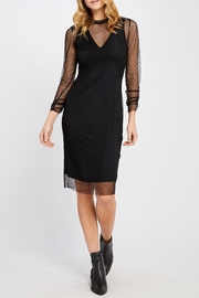 Gentle Fawn Mesh Overlay Dress - Product Mini Image