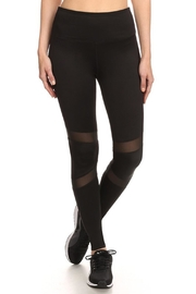 New Mix Mesh Panel Pants - Front cropped