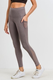 Mono B Mesh Pocket Legging - Product Mini Image