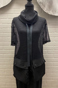 Simply Mila Mesh Pocket Top - Product List Image