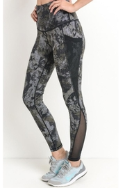 Mono B Mesh Print Leggings - Product Mini Image