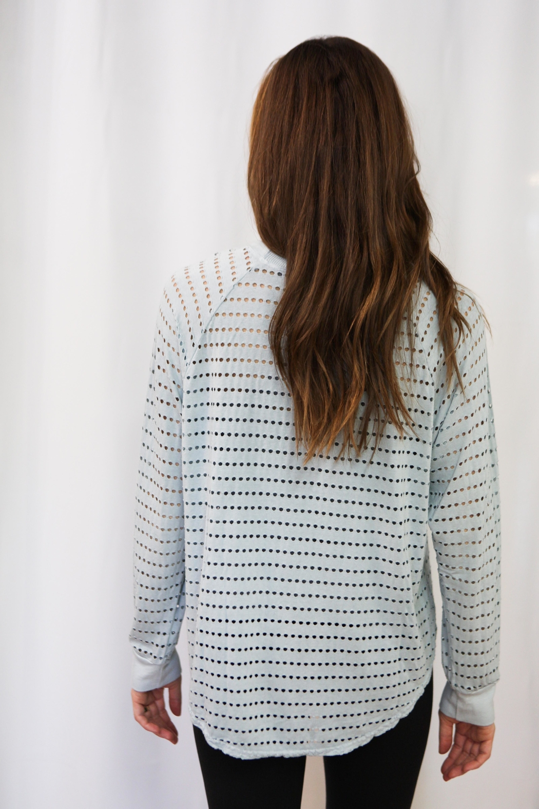 Hard Tail Forever  Mesh Pullover - Front Full Image