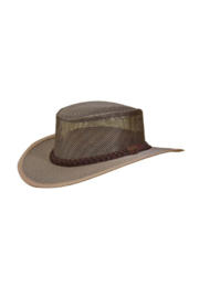 Stetson Dorfman Pacific Mesh Safari Hat w/ Floater - Front cropped