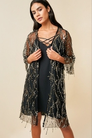 Hayden Los Angelos Mesh Sequin Cardigan - Product Mini Image