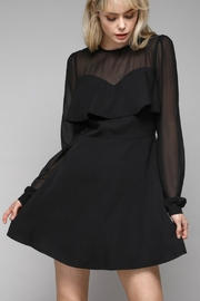 Do & Be Mesh Sleeve Dress - Front cropped