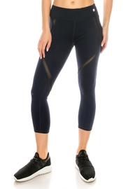 LA Coalition Mesh Stripe Legging - Product Mini Image