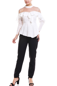 Shoptiques Product: Mesh Top Blouse