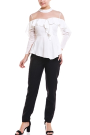On Twelfth Mesh Top Blouse - Product Mini Image