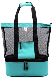 Lyn -Maree's Mesh Topped Beach Cooler - Front cropped