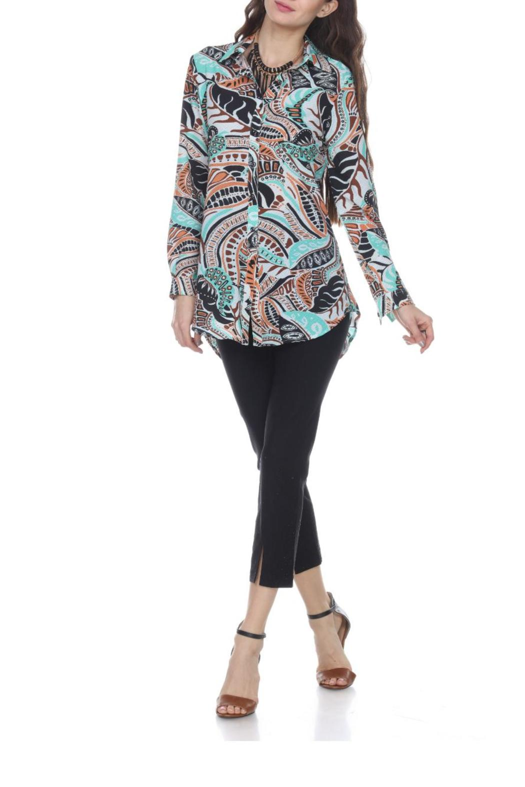 Mesmerize Miracle Fit Pant - Front Cropped Image