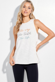 Phil Love  Message Tank Top - Product Mini Image
