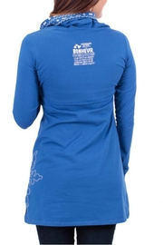 Message Factory Blue Snowflake Tunique - Side cropped