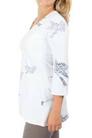 Message Factory Clemence Tunic White - Product Mini Image