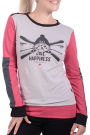 Message Factory Ski Happiness Top - Product Mini Image