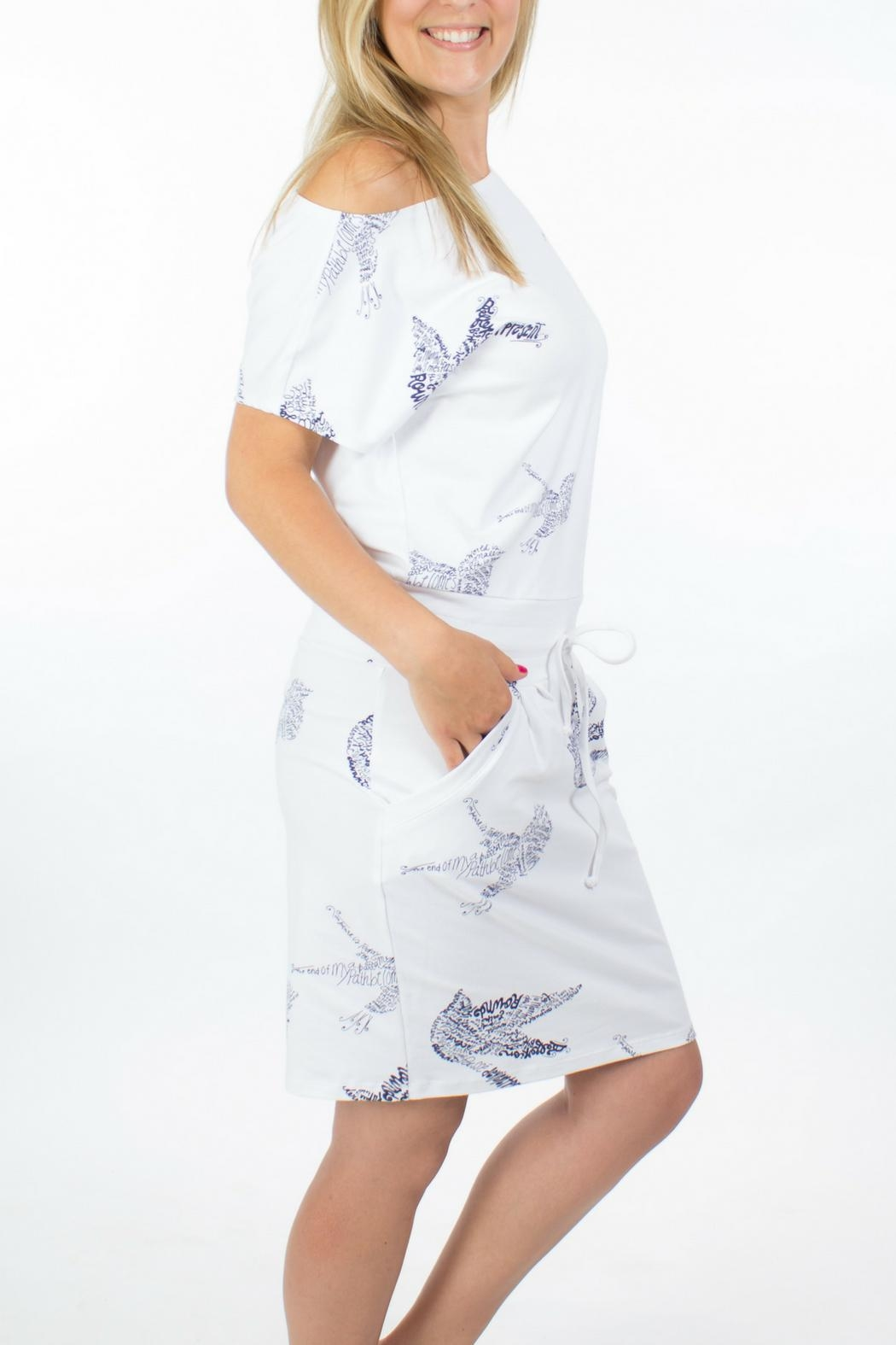 Message Factory Sweet Pea Dress - Side Cropped Image