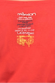 Message Factory Sweet Pea Red - Side cropped