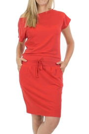 Message Factory Sweet Pea Red - Front cropped