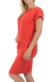Message Factory Sweet Pea Red - Back cropped