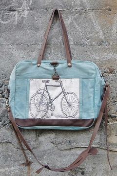 Chloe & Lex Messenger Bicycle Tote - Product List Image