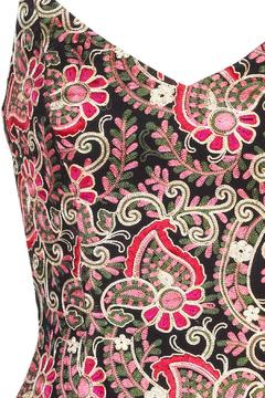 Shoptiques Product: Embroidered Flower Dress