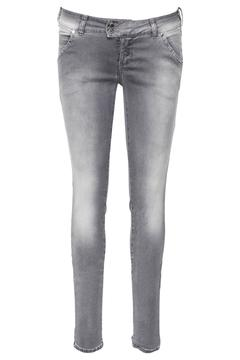Shoptiques Product: Grey Skinny Fit Jeans