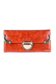 DiJore Metal Accented Italian Leather Wallet - Product Mini Image