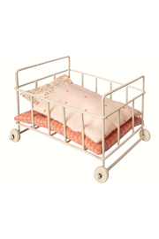 Maileg Metal Baby Cot Micro - Product Mini Image