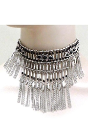 Nadya's Closet Metal Choker Necklace-Set - Product Mini Image