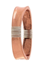 Miss Darlin Metal Cuff Bracelet - Front cropped