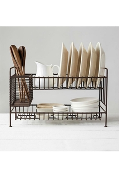 Creative Co-Op Metal Dish Rack - Product List Image
