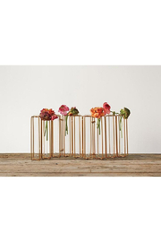Creative Co-Op METAL & GLASS JOINTED VASE TEST TUBES - Product Mini Image