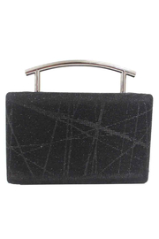 Sondra Roberts Metal Handle Box Clutch Nizza Glitter - Product Mini Image