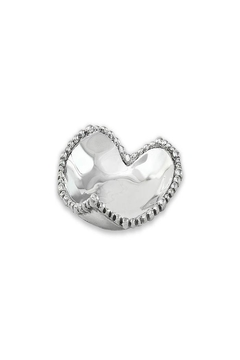 Shoptiques Product: Metal Heart Dish