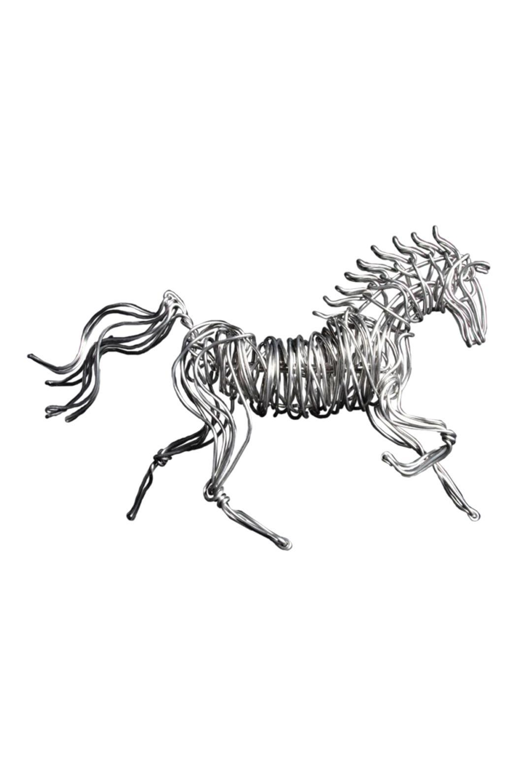 G Gallery & Glass Studio Metal Horse Sculpture - Main Image
