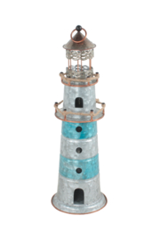 Sagebrook Home METAL LIGHTHOUSE - Front cropped